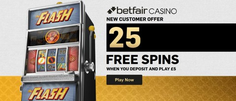 casino 25 free spins new customer offer