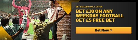 Bet Builder free bet promotion