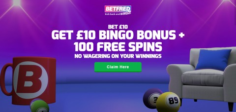 Betfred Bingo new customer promotion