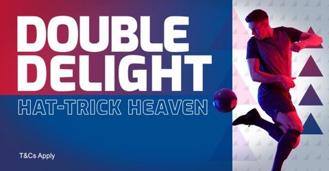 Double Delight Hat-trick Heaven eligible games