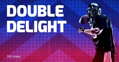 American Football double delight promotion