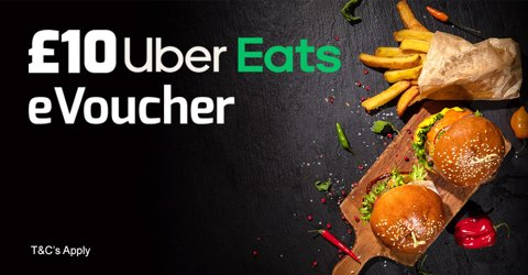 Betfred Uber Eats promotion