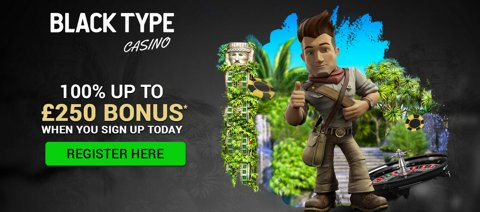 black type casino new customer promo