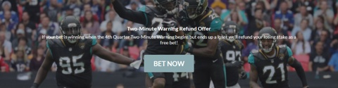 nfl american football 2 minute warning offer