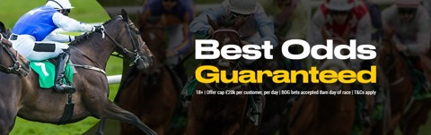 best odds guaranteeed racing offer