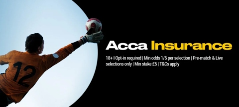 Football acca insurance