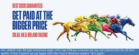 best price guaranteed horse racing offer