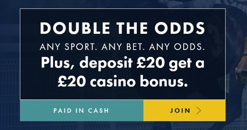 double odds new customer promotion grosvenor