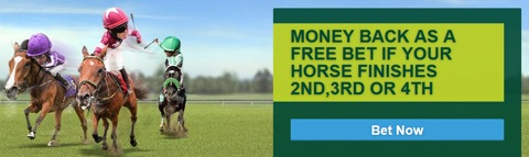 Horse racing money-back