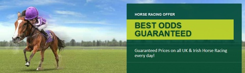 best odds guaranteed horse racing
