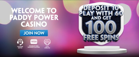 Casino bet 10, get 60, 100 free spins new customer promo