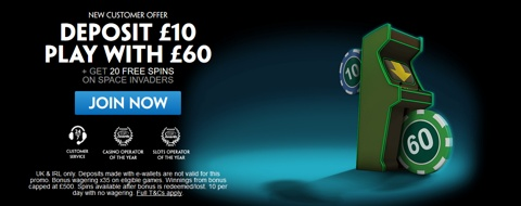 casino paddy power new customer bet 10 get 60