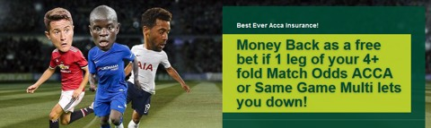 four fold acca insurance promotion