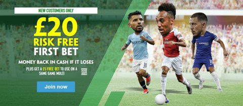 new customer risk free multibet free bet offer