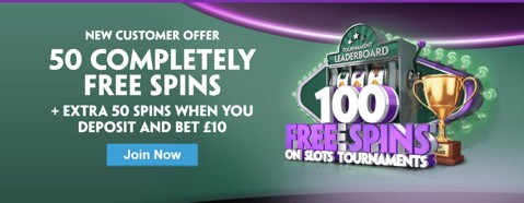 paddy power vegas 50 free spins promo