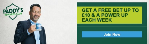 paddy power free bet club