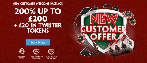 poker new customer 200 bonus