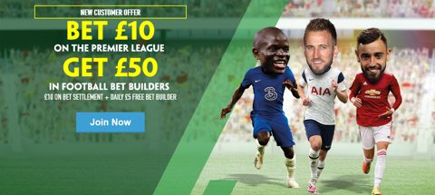 Premier League Bet Builder promotion