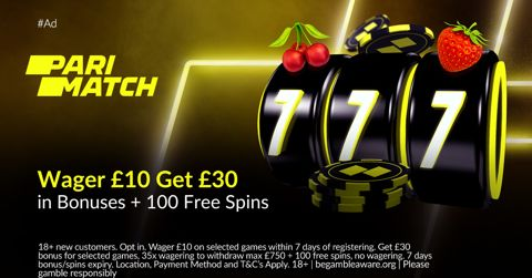 Parimatch casino promotion