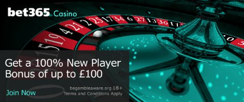 Casino new player deposit bonus offer