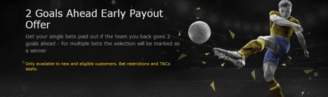 football early payout promo