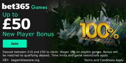 games new player bet365 bonus