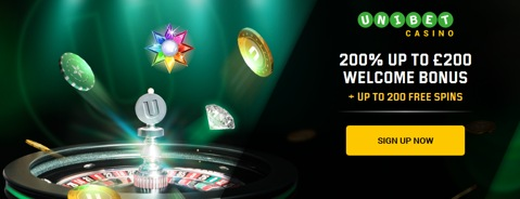unibet casino new customer bonus